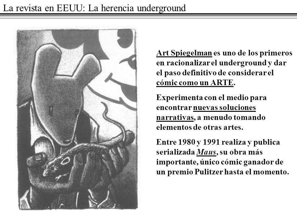 La revista en EEUU: La herencia underground