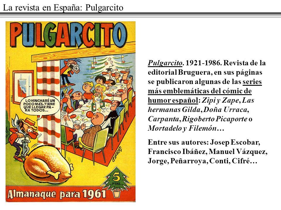 La revista en España: Pulgarcito