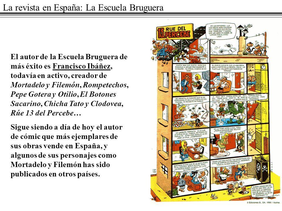 La revista en España: La Escuela Bruguera