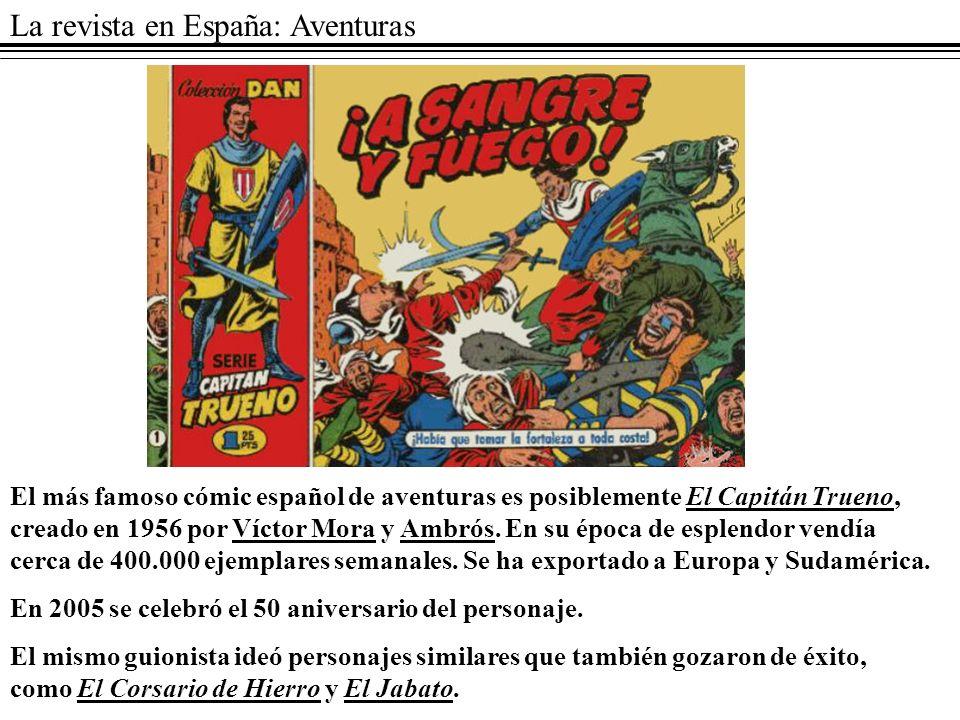 La revista en España: Aventuras