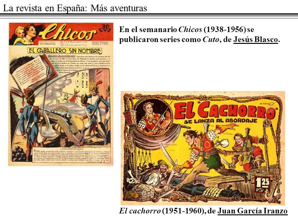 La revista en España: Más aventuras