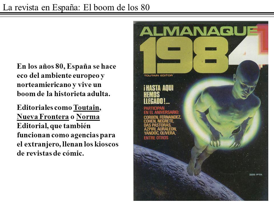 La revista en España: El boom de los 80