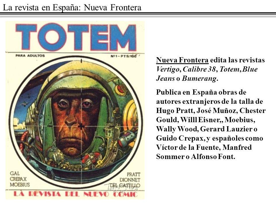 La revista en España: Nueva Frontera