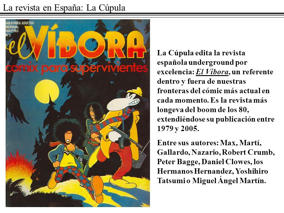 La revista en España: La Cúpula