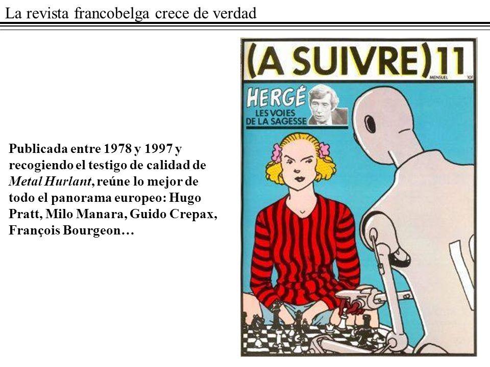 La revista francobelga crece de verdad