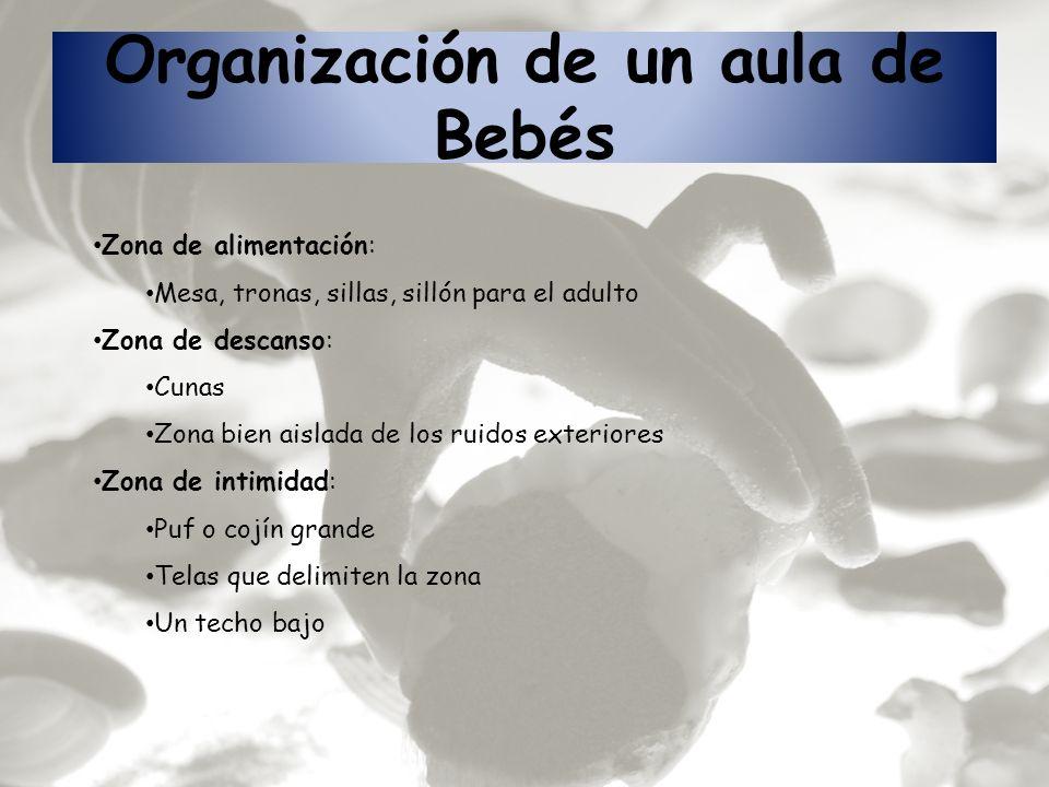 Organización de un aula de Bebés