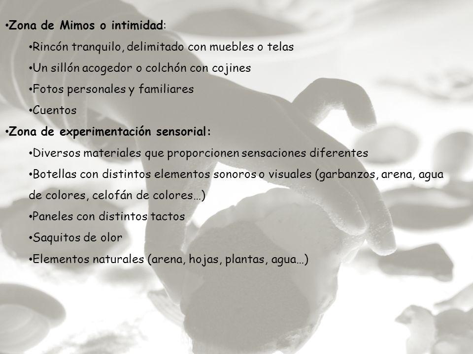 Zona de Mimos o intimidad: