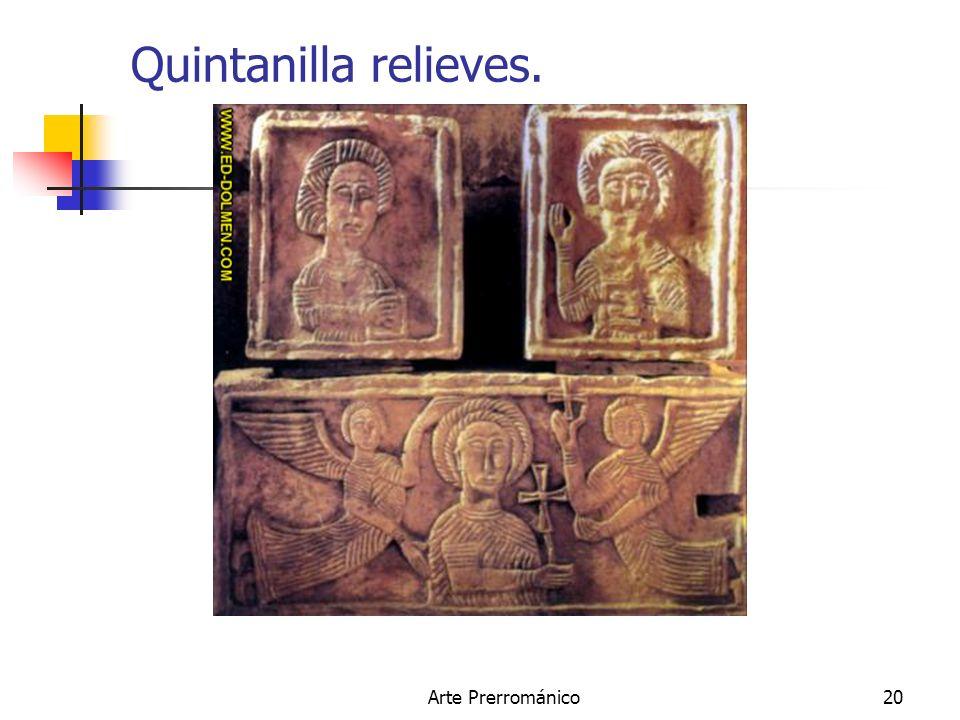 Quintanilla relieves. Arte Prerrománico