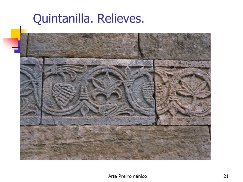 Quintanilla. Relieves. Arte Prerrománico
