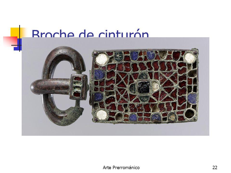Broche de cinturón. Arte Prerrománico