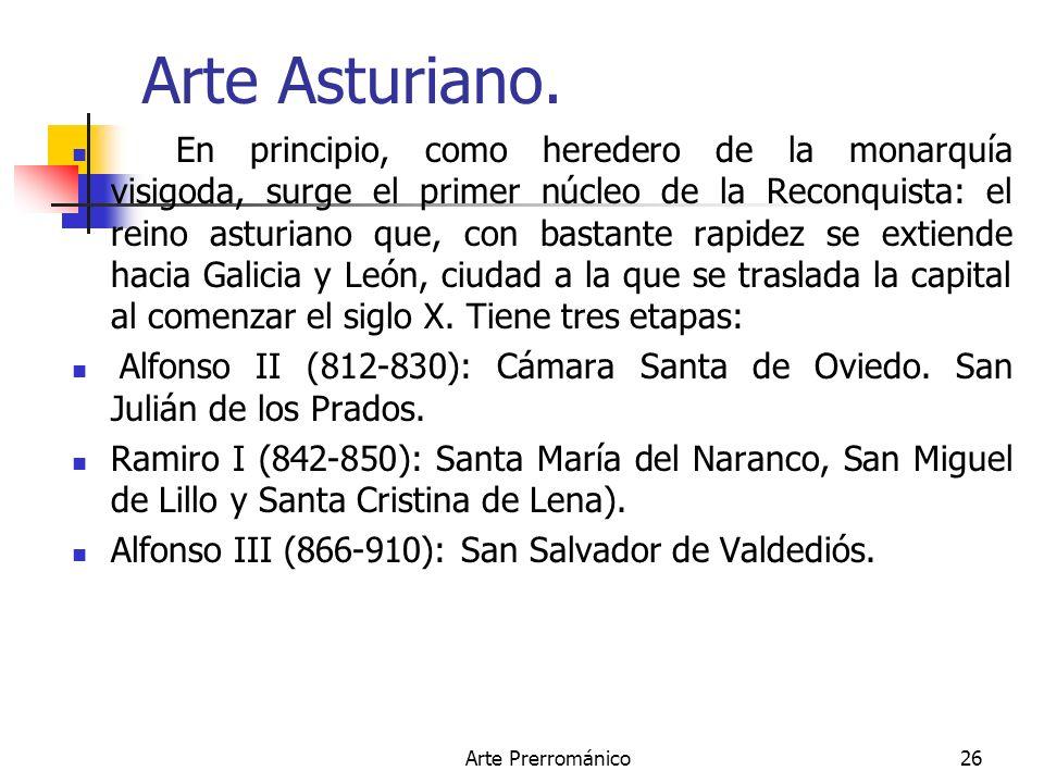 Arte Asturiano.