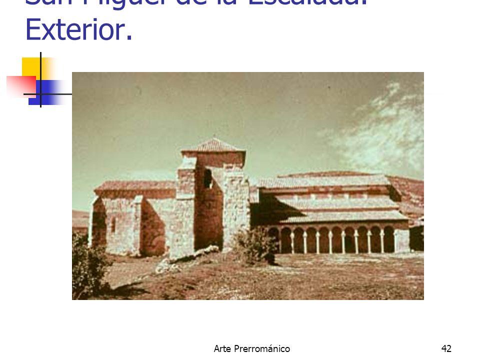 San Miguel de la Escalada. Exterior.