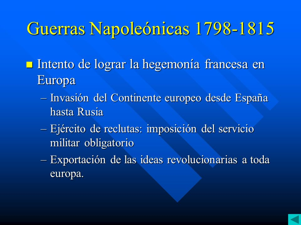 Guerras Napoleónicas 1798-1815