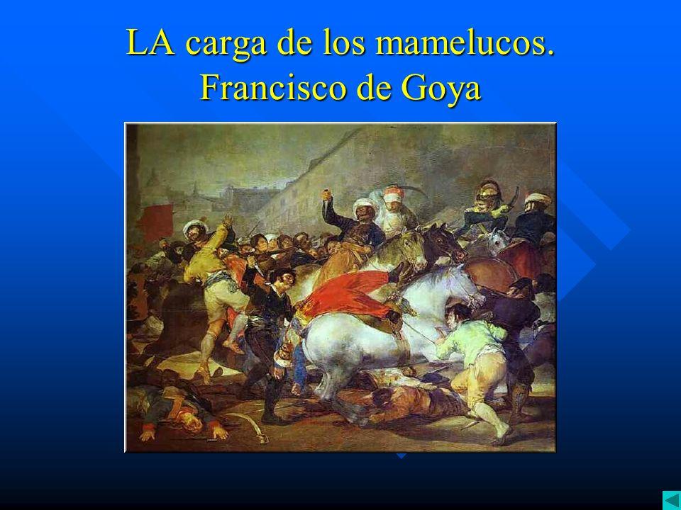 LA carga de los mamelucos. Francisco de Goya