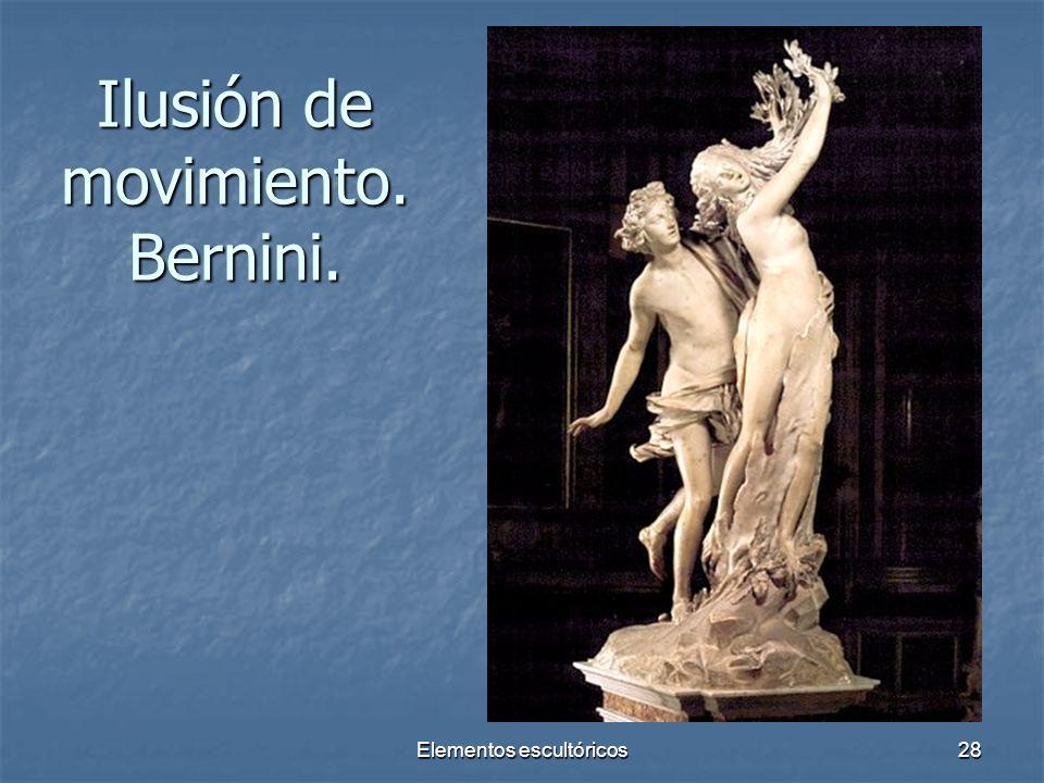 Ilusión de movimiento. Bernini.