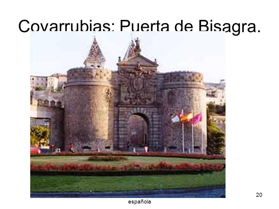 Covarrubias: Puerta de Bisagra.