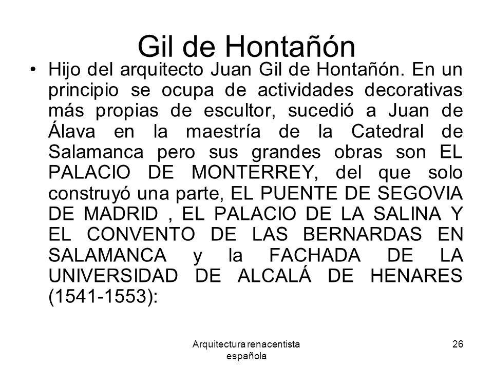 Arquitectura renacentista española