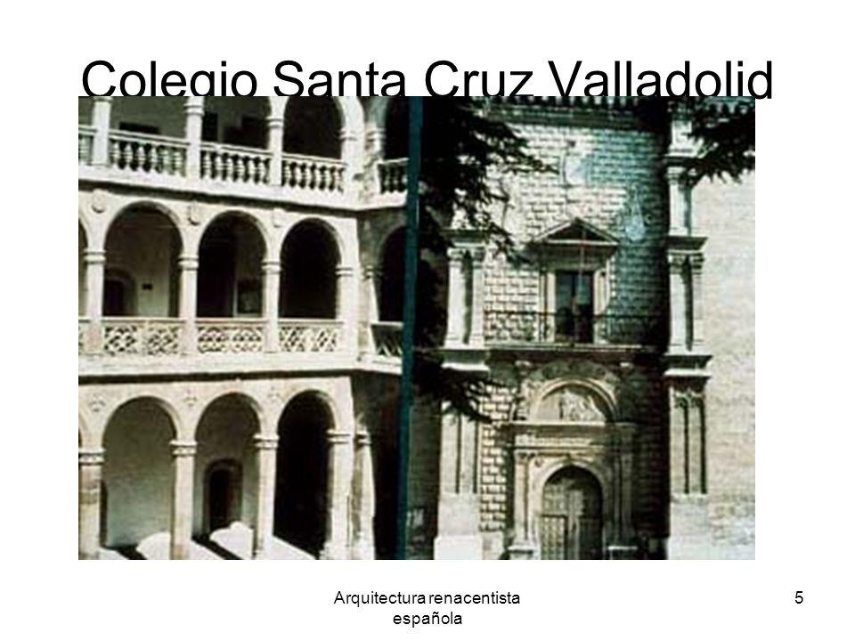 Colegio Santa Cruz Valladolid