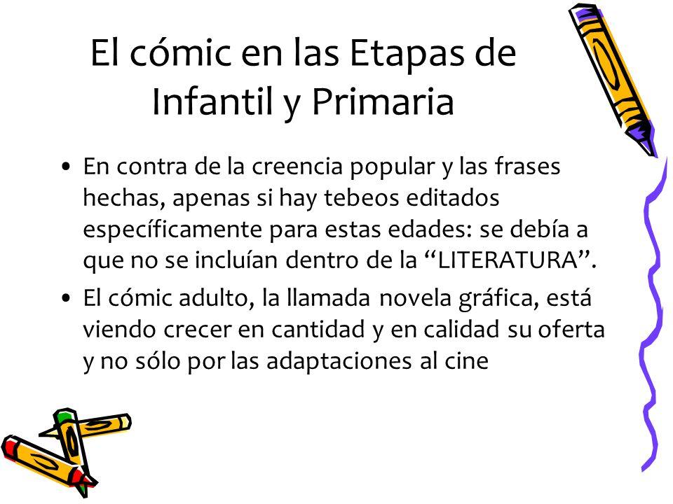 El cómic en las Etapas de Infantil y Primaria
