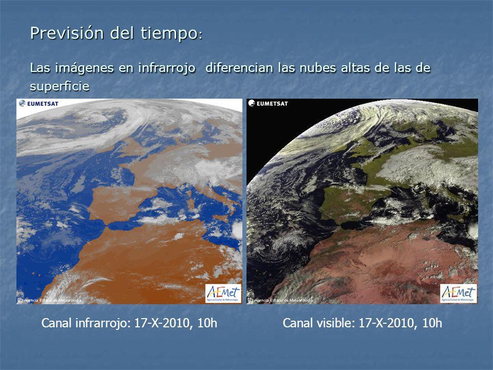 Canal infrarrojo: 17-X-2010, 10h