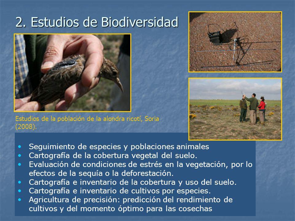 2. Estudios de Biodiversidad