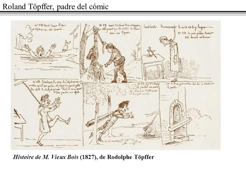 Roland Töpffer, padre del cómic