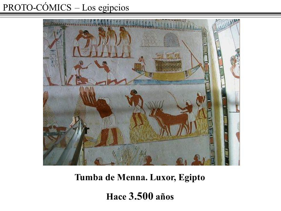 Tumba de Menna. Luxor, Egipto