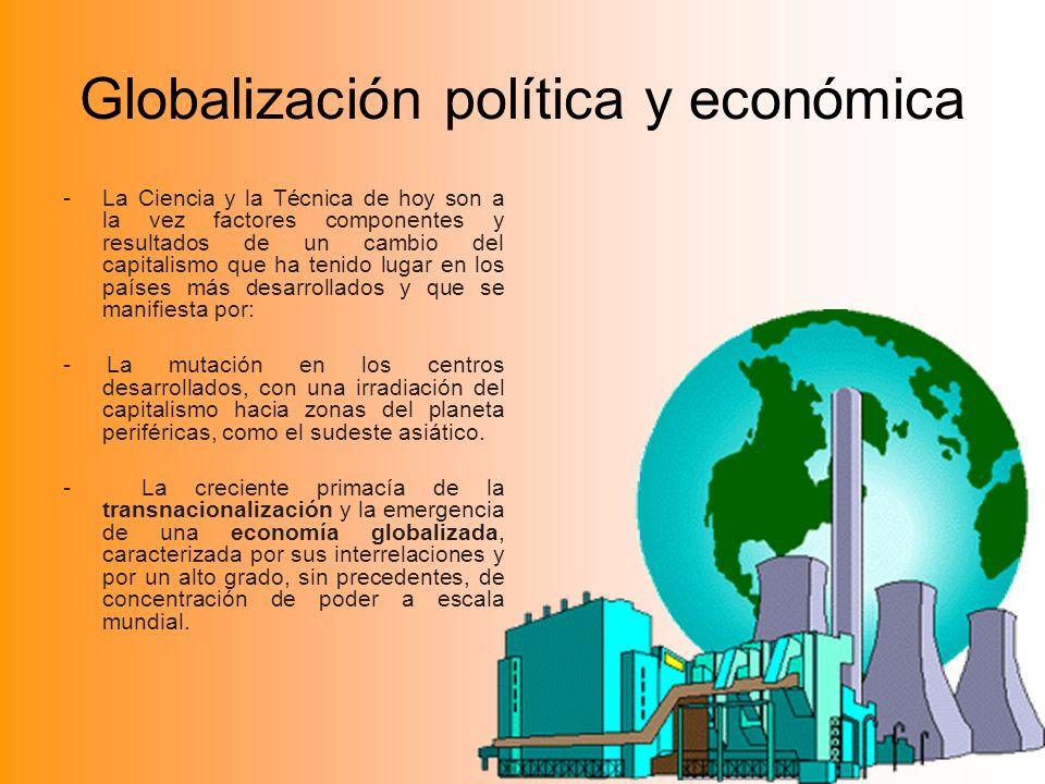 Globalización política y económica