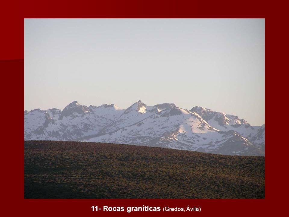11- Rocas graníticas (Gredos, Ávila)