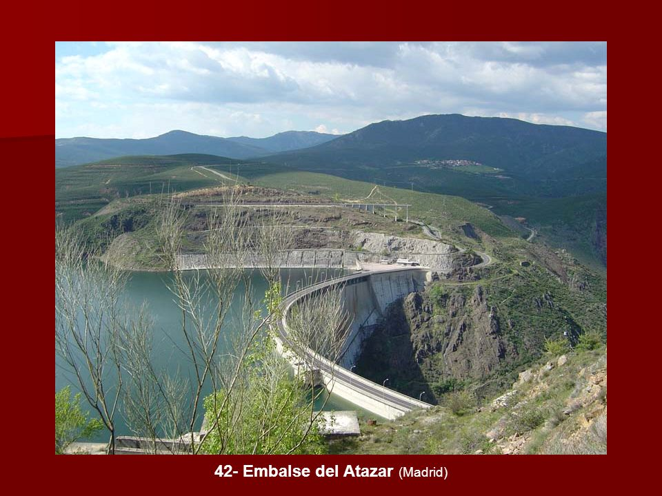 42- Embalse del Atazar (Madrid)