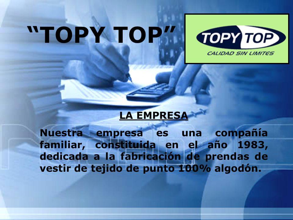 TOPY TOP LA EMPRESA.