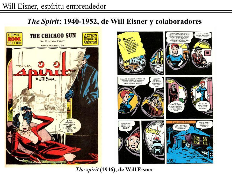 Will Eisner, espíritu emprendedor