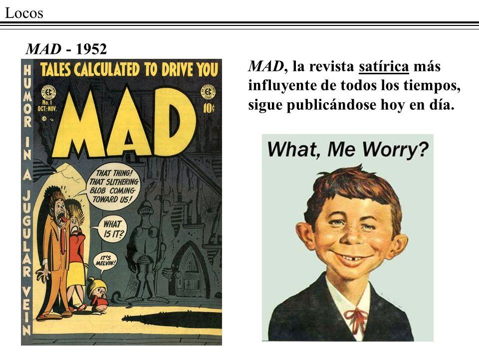 Locos MAD - 1952.