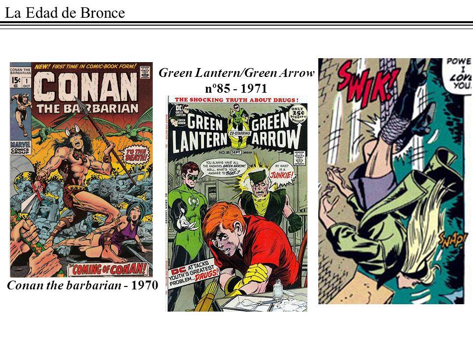 Green Lantern/Green Arrow nº85 - 1971