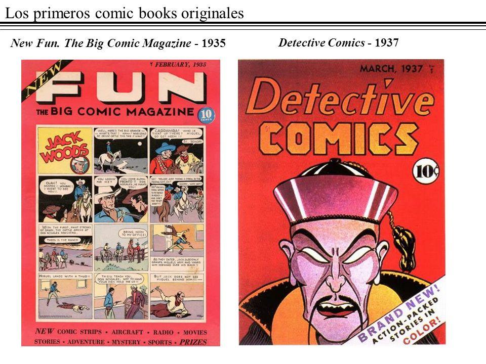 Los primeros comic books originales