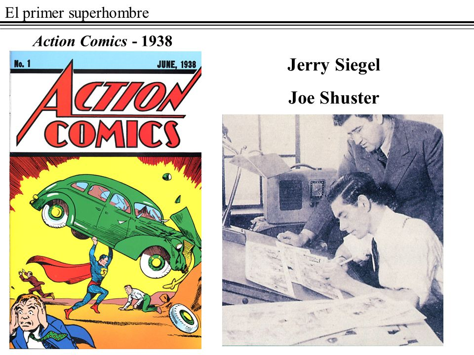 Jerry Siegel Joe Shuster