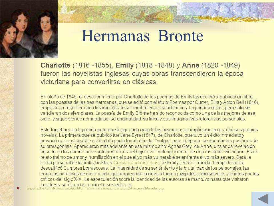 Hermanas Bronte