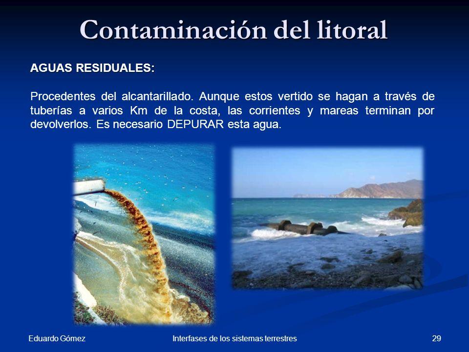 Contaminación del litoral