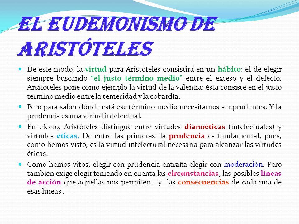 El eudemonismo de Aristóteles