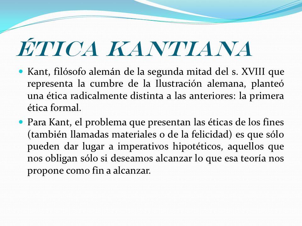 Ética kantiana