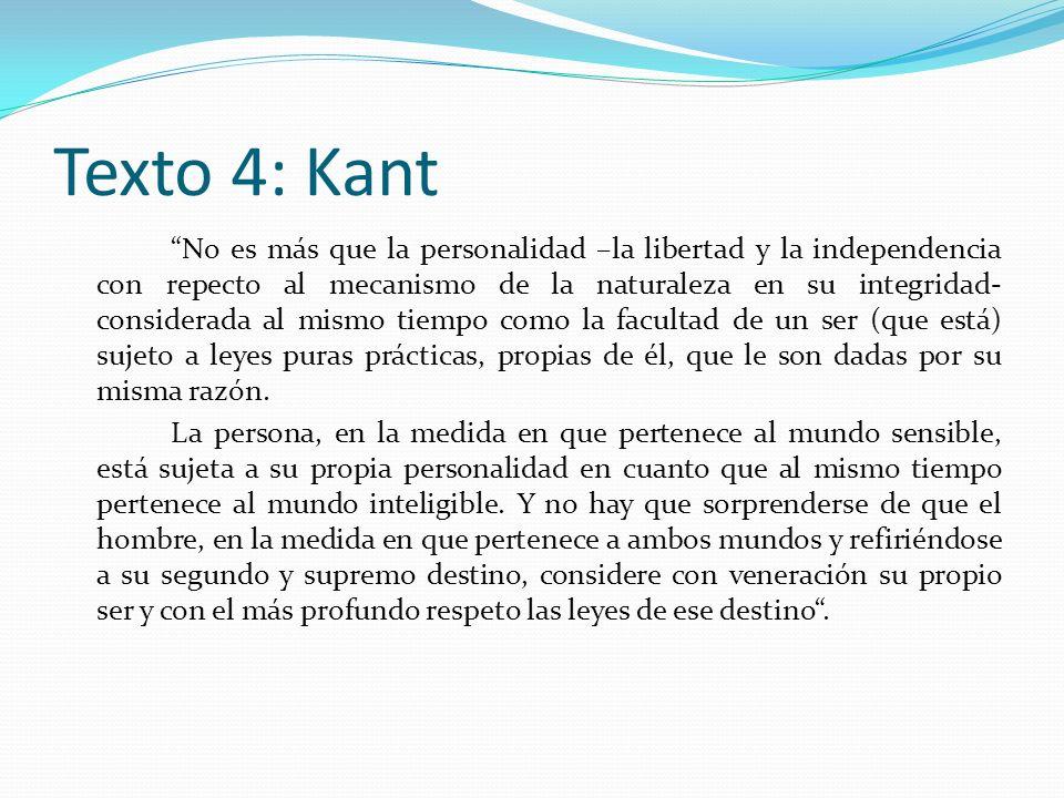 Texto 4: Kant