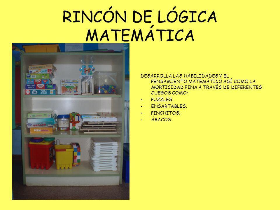 RINCÓN DE LÓGICA MATEMÁTICA