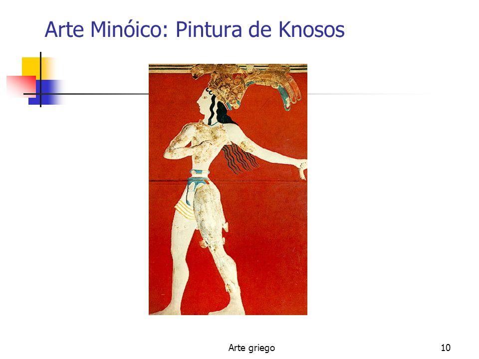 Arte Minóico: Pintura de Knosos