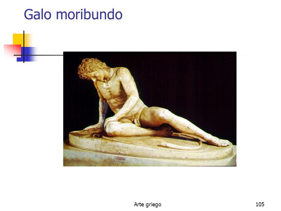 Galo moribundo Arte griego