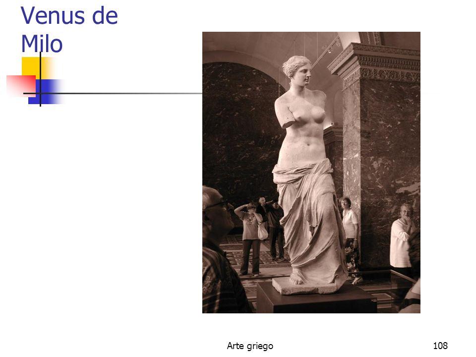 Venus de Milo Arte griego