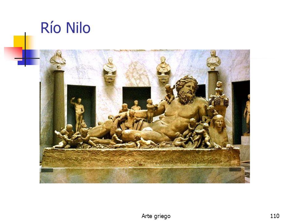 Río Nilo Arte griego