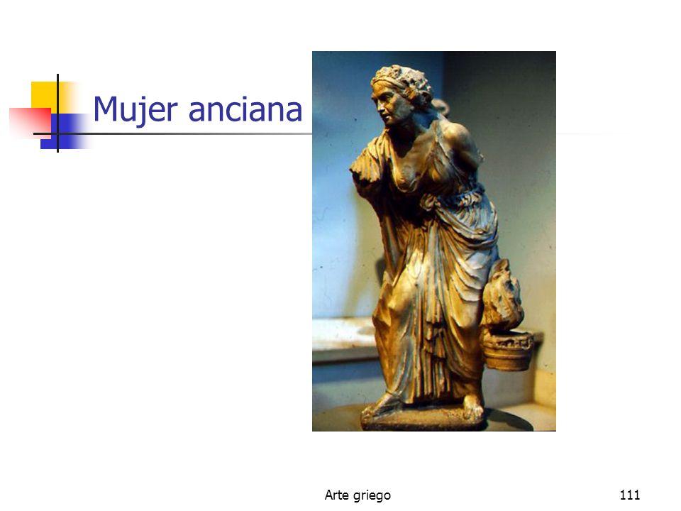 Mujer anciana Arte griego