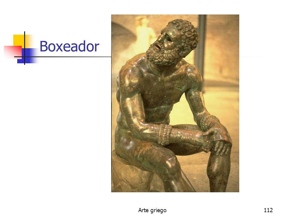 Boxeador Arte griego