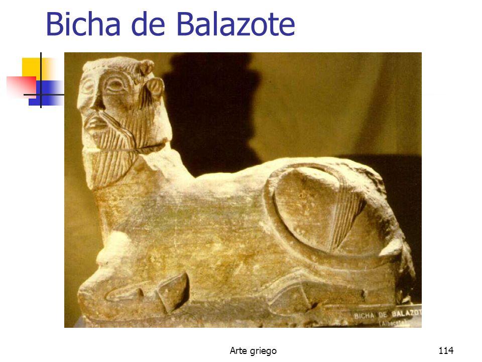 Bicha de Balazote Arte griego