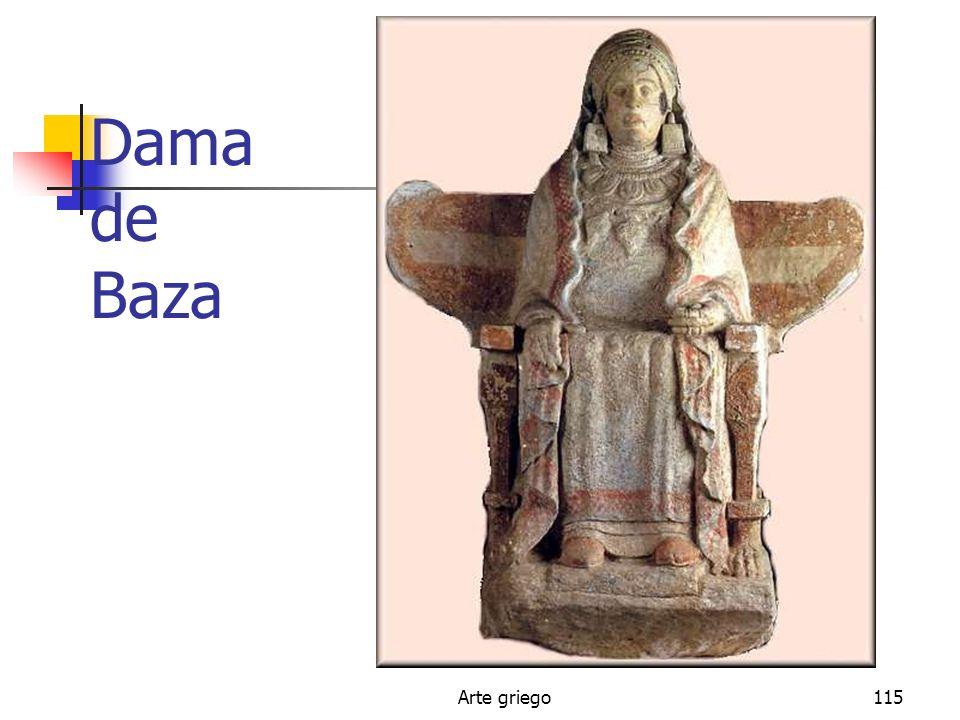 Dama de Baza Arte griego